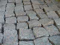 Sale chipped granite pavers