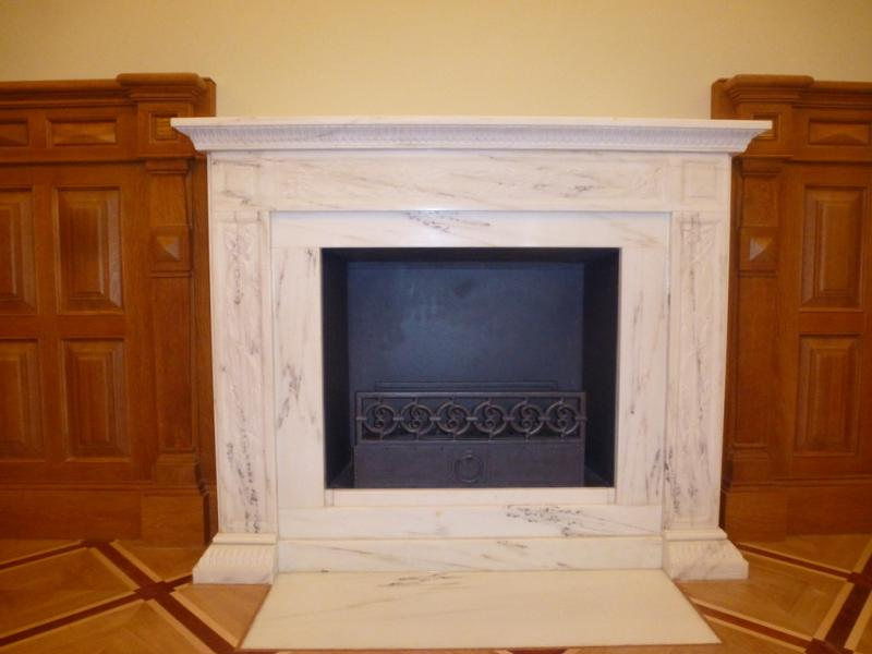 Prices for fireplaces mosaics and marble reliefs
