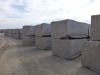 Prices of granite blocks granite Zheltau, Jalgyz and Mansurov in St. Petersburg