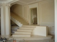 Pictures on stairs, steps, balusters and balustrades of marble and granite