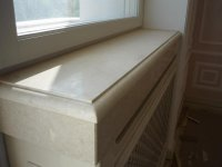 Prices on granite and marble window sills, low tides