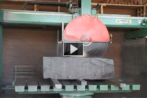YouTube Video Sawing of granite blocks