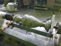 Fabrication of balusters from granite