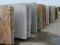 The price of imported slabs from granite and marble in St. Petersburg