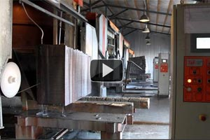 YouTube Video Manufacturing of slabs a granite and marble