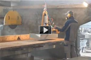 YouTube Video Laying of granite slabs