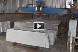 YouTube Video Polished granite slabs